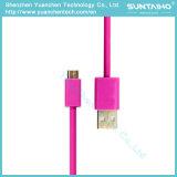 Câble de chargement micro USB 2.0 USB coloré pour téléphones intelligents Samsung