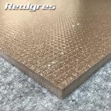 Silbernes Travertin-keramisches Porzellan-volle Karosserien-Fußboden-Fliese des Brown-Badezimmer-3D