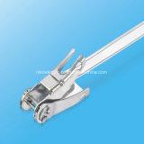 Fascetta ferma-cavo risparmiatrice di tempo dell'acciaio inossidabile con l'inarcamento della fascia del Cricco-Lokt