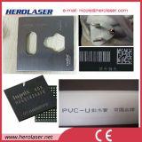 Etiqueta de plástico automática del laser de la fibra de la máquina de la marca del laser del teclado de la talla grande