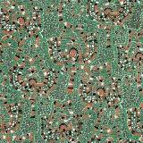 Цветастый шелк ткани 100% печати цифров для одежды способа (SZ-0031)