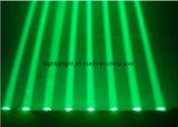 l'éclairage principal mobile DJ d'étape légère de faisceau de 8*10W DEL Party l'éclairage de mariage de disco