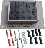 Durchmesser-variable Kabel-Eintrag-Platte für Koaxialkabel