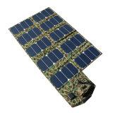 carregador solar Foldable de 64W 5V 21V com saída dupla da C.C. do USB