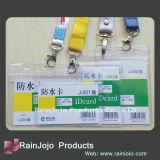 Suporte de cartão colorido do PVC do plástico da venda quente, cartões da identificação do estudante