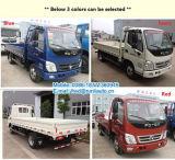 Moteur diesel Foton Aoling 4X2 2 tonne de marchandises légères pour les ventes de camions avec des prix bon marché