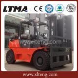Carretilla elevadora hidráulica del Dual-Combustible de Ltma 5t LPG para la venta
