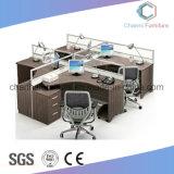 현대 가구 사무실 테이블 나무로 되는 컴퓨터 책상 워크 스테이션