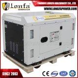 10kVA 10kw 3段階の空気涼しい無声ディーゼル発電機