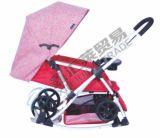 2 Farben-deluxer Kabinendach-Baby-Spaziergänger