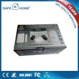 Processo de teclado profissional Home GSM Sistema de alarme sem fio para Loja