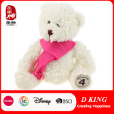 jouet de peluche d'ours de nounours de 30cm autour d'un ours d'écharpe