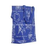 A buon mercato riciclare il sacchetto non tessuto pieghevole di acquisto promozionale