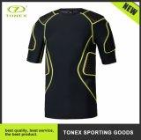 Usura di sport di alta compressione respirabile di elasticità di baseball di tennis di rugby anti