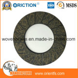 Cara de embrague material de la fibra de Aramid de la fricción