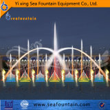 LED Light Decorative Stainless Steel Lake floating Fountain