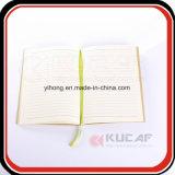 Genaaid & het Lijm Verbindende Notitieboekje van het Document van Kraftpapier met de Dekking van de Besnoeiing van de Matrijs