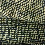 Tela del poliester del telar jacquar, tela de la ropa, materia textil, tela del juego