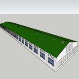 Het lichte Geprefabriceerde Huis van het Metaal voor de Oplossing van het Landbouwbedrijf