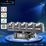 éclairage mobile de barre d'étape de bande de têtes du CREE DEL 6 de 6*12W 4in1 RGBW