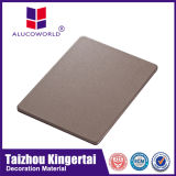 El panel de aluminio del panal del revestimiento impermeable exterior de la pared de Alucoworld