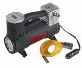 насос автомобиля компрессора воздуха датчика автошины цифров насоса автошины автомобиля 12V миниый с светом
