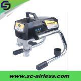 Máquina mal ventilada elétrica de alta pressão portátil da pintura de pulverizador da parede para a venda St6250