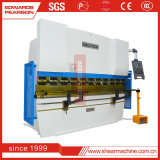 Freio da imprensa Wc67k-160t/3200 hidráulica, freio da imprensa do CNC, máquina de dobra