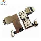 Moto G2 Xt1068 Xt1069 G 제 2 홀더 마이크로 SD 기억 장치 소켓 슬롯 쟁반을%s SIM 카드 코드
