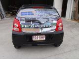Materiale solvibile di stampa di Eco Digital di visione di Peforated del PVC dell'autoadesivo di vetro autoadesivo unidirezionale del vinile