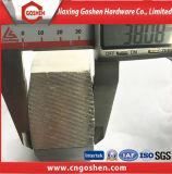 Noix de rotation chaude de noix de pièce d'acier inoxydable de pièce forgéee grande, noix lourde