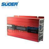 Solar inteligente de Suoer 2kw 12V 220V fora do inversor da potência da grade com indicador do LCD (SDB-D2000A)
