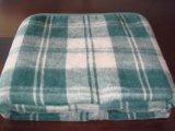 Manta de lana tejida de los militares del ejército del verde verde oliva