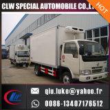 De Vrachtwagen van de Ijskast van Dongfeng 4*2 Car Refrigerator Van Refrigerator Box