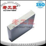 Plaque de soudure Tungsten carbure cimenté vierge avec différentes formes sur Semi de l'usinage