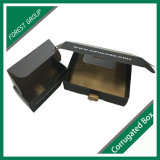 マットのラミネーションの卸売と包む黒い板紙箱