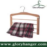 Het houten Rek van de Handdoek, het Rek van de Hanger van de Broek