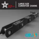 Ne Series Pitch 300 Bucket Elevator Chain Industry Grande chaîne