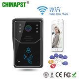 Multi Wohnung WiFi videoDoorphone mit Identifikation-Karte (PST-WiFi001ID)
