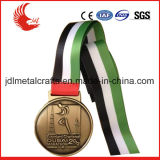 Profissional Fabricante Stainless Iron Printing Medal Badge