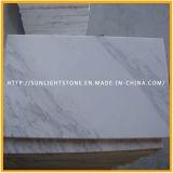 Polished белые плитки слябов Volakas мраморный для пола ванной комнаты кухни