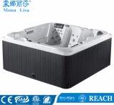 4つの枕(M-3354)が付いている熱い販売のMonalisaの温水浴槽の鉱泉