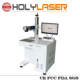 Marcação de fibra a Laser Máquina para cartão de negócios de venda a quente