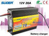 Suoer Battery Charger 12V 20A Solar Battery Charger Hoge kwaliteit Power Battery Charger met drie-fase Charging Mode (MAD-1220A)