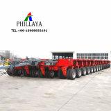 Opheffende Trekbalk van de Leiding van de as de Hydraulische/de Semi Modulaire Aanhangwagen Lowbed van de Vrachtwagen