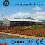 세륨 ISO BV SGS에 의하여 전 설계되는 강철 건축 창고 (TRD-085)