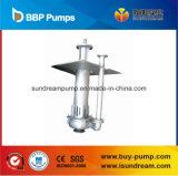 Pompe de soutirage de boue submersible verticale pour boue de concentration élevée