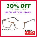 2016 frames óticos do metal novo da forma do projeto moderno