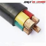 cabo distribuidor de corrente do cabo do PVC de 0.6/1kv Nyy