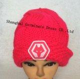 Мода на 100%акриловый теплый кабель для вязания Red Hat и шарфом (JYB345)